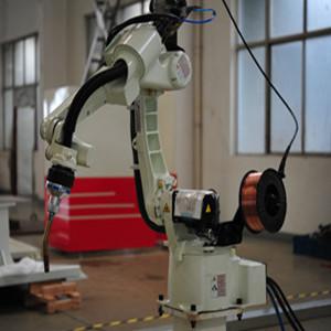 机器人焊接(电动车车架)